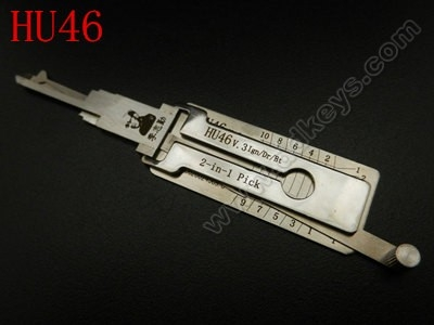 HU46 Lishi 2-in-1 Pick/Decoder
