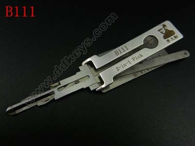 B111 Lishi 2-in-1 Pick/Decoder