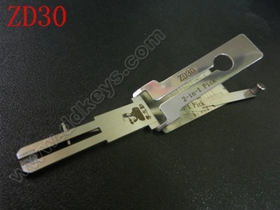 ZD30 Lishi 2-in-1 Pick/Decoder