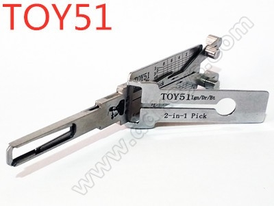 TOY51 Lishi 2-in-1 Pick and...