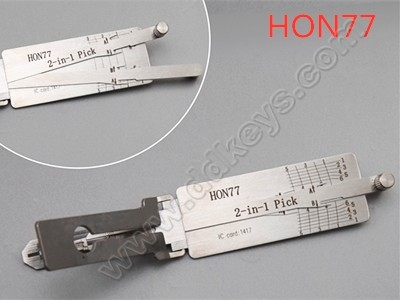 HON77 Lishi 2-in-1 Pick and...